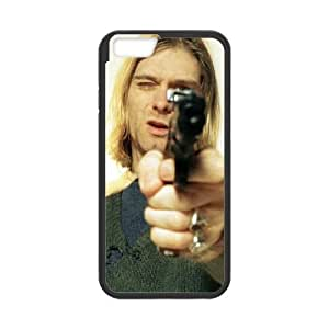 iPhone 6 Plus 5.5 Inch Cell Phone Case Black Kurt Cobain P6690395