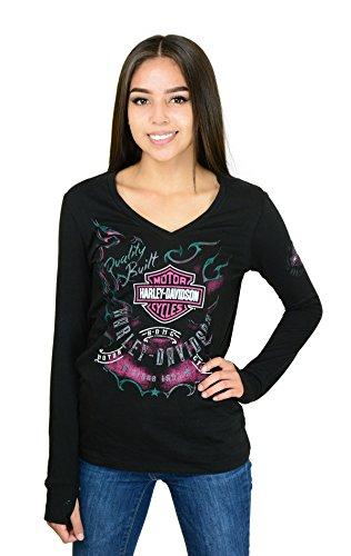 Harley Davidson T Shirts Women'S - 9