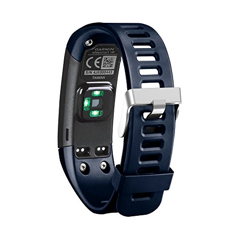 Band for Garmin Vivosmart HR, Soft Adjustable Silicone Replacement Wrist Watch Band Accessory for Garmin Vivosmart HR (No Tracker, Replacement Bands Only) (Midnight Blue)