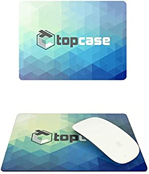 TOP CASE Faded Ombre Series Hot Blue /& Purple Silicone Keyboard Cover Skin Compatible with MacBook Air 11 with TOP CASE Mouse Pad
