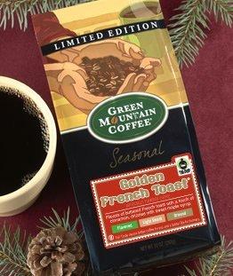 Green Mountain Golden French Toast, Ground Coffee, 10oz. Bag