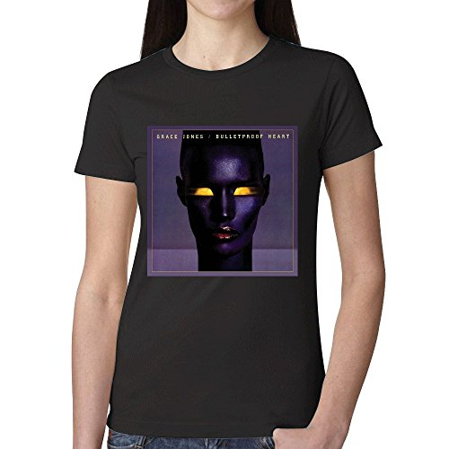 Grace Jones Bulletproof Heart T Shirts For Women - Macys Texas Houston
