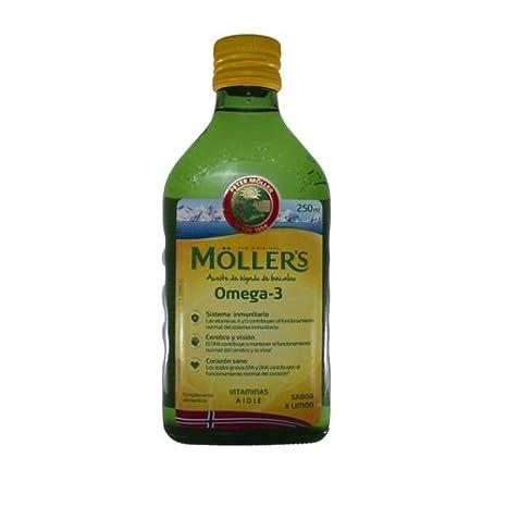 MOLLERS aceite de hígado de bacalao, omega3, 250ml.: Amazon.es: Salud y cuidado personal