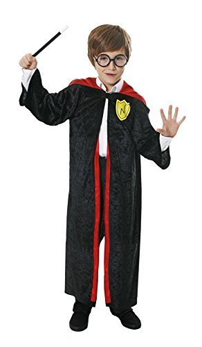 [Boys Girls Wizard Robe Fancy Dress Costume Harry Potter Dressing Up Outfit for World Book Day All Ages VEX (4-6 years) by] (Harry Potter Fancy Dress Costumes)
