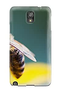 New Cute Funny Bee Case Cover/ Galaxy Note 3 Case Cover by mcsharks