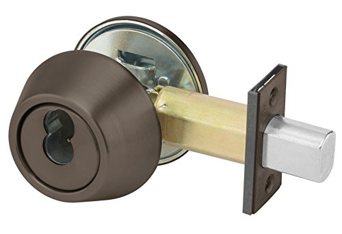 Yale B-D212 X 613E X SFICLC LC 200 Series Deadbolt, Cylinder by Thumbturn, SFIC Cylinder Prep Less Cylinder, 2 3/4