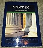 img - for MGMT 455 Purdue University book / textbook / text book