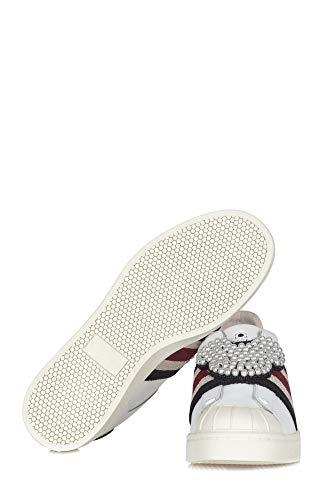Blanco Moa Zapatillas Cuero Mujer MD240KITWHT rEIqrHw