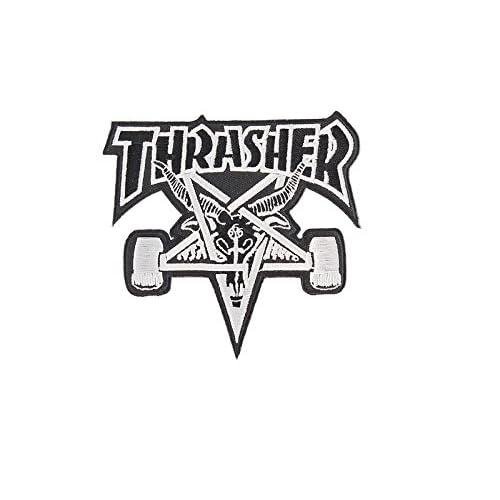 Parche Calidad Thrasher Www Alta Skategoat Negroplateado Color De PyA5qKy
