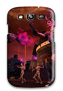 Hot Design Premium Tpu Case Cover Galaxy S3 Protection Case(saints Row: Gat Out Of Hell)