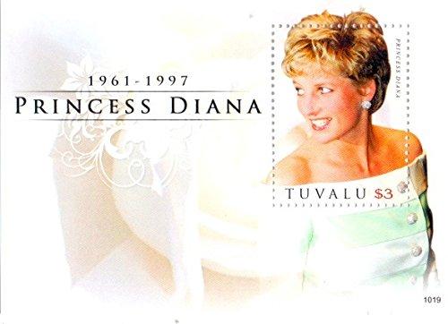Princess Diana Sheet (TUVALU DIANA PRINCESS OF WALES IN MEMORIAM S/SHEET)