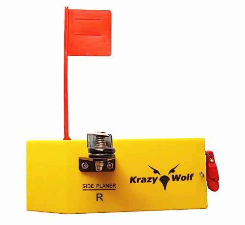 Krazywolf Planer Side Board (P009),Includes Spring Flag system,Left Or Right,L8