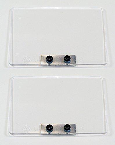 DeWalt DW758 2 Pack of OEM Replacement Bench Grinder Eye Shields # 761366-00