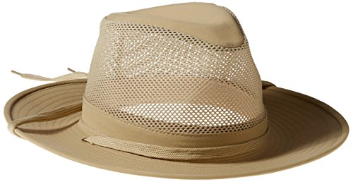 Henschel Men's Aussie Crushable Hat, Khaki, X-Large ()