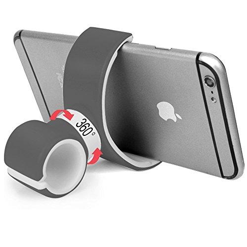 Eximtrade Universal Fahrrad Handy Halterung 360° Drehung für Apple iPhone 4/5/5s/6/6s/6Plus/6s Plus, Samsung Galaxy S2/S3/S4/S5/S6/S6 Edge/S6 Edge Plus/S7 Edge/Note 3/Note 4/Note 5, HTC One, Motorola, Sony Xperia, LG und andere Smartphones (Schwarz)