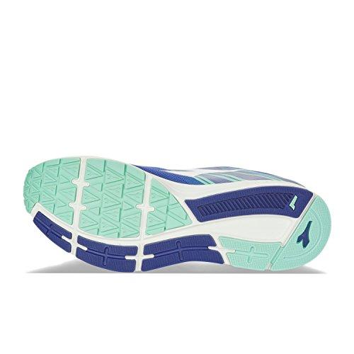 Diadora Action +2 W, Zapatillas de Running para Mujer C4146 - DEEP BLUE-WHITE