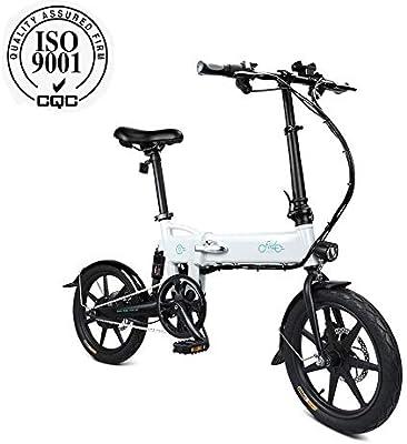 FIIDO D2 Bicicleta eléctrica mística plegable para adultos ...