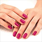 Lakmé 9 to 5 Primer + Gloss Nail Colour, Magenta Mix, 6 ml