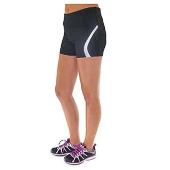 Ryka Womens Athletic Shorts, Black, Size - 2X