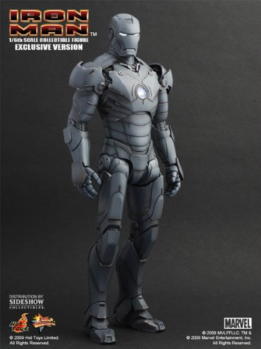 Hot Toys Movie Master Piece - Iron Man  Iron Man Mark III Gunmetal Exclusive Ver.