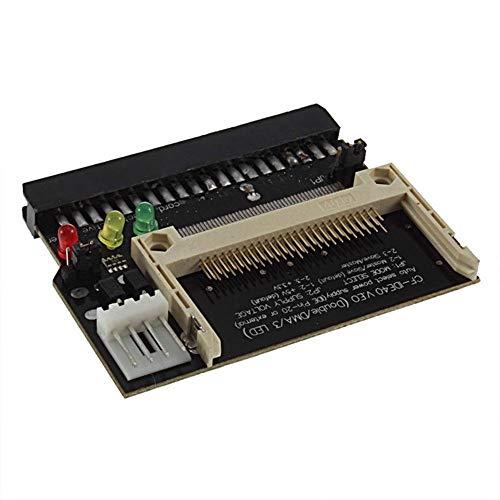 FidgetFidget Compact Flash CF To 3.5 Female 40 Pin IDE Bootable Adapter Converter Card YG
