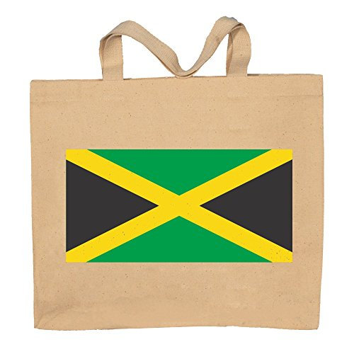 Jamaica Flag Jamaican Totebag Bag by T-ShirtFrenzy