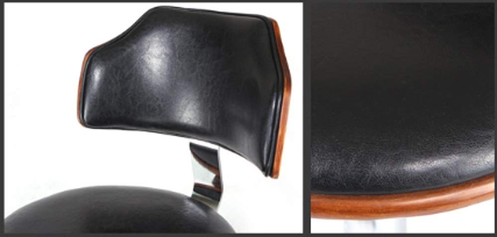 AO-stools Bar Chair Bar Stool Stylish American Solid Wood Bar Chair Lift 60x40x17cm by AO (Image #7)