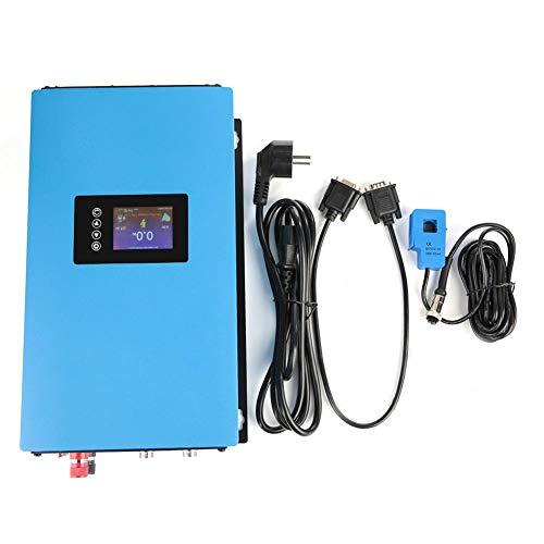 Solar Wechselrichter, 110/220V EU Stecker 1000W/2000W Solar Power Grid Tie Wechselrichter mit Limiter für Heimkinos, elektrische Schleifscheiben(#02)