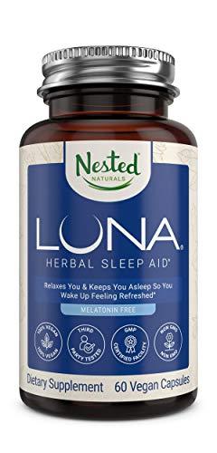 LUNA Melatonin-Free Sleep Supplement