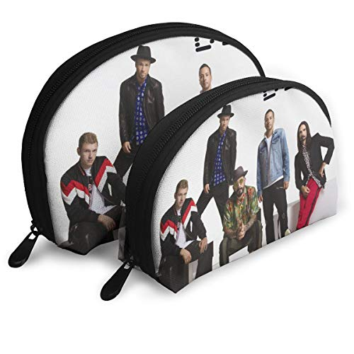 63239ab8be074 SUWIzhhs Backstreet Boys Women s Shell Portable Bags Clutch Pouch  Toiletries Bags