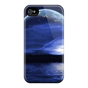 Hkeller TYL4227kTgh Case Cover Iphone 4/4s Protective Case Lake
