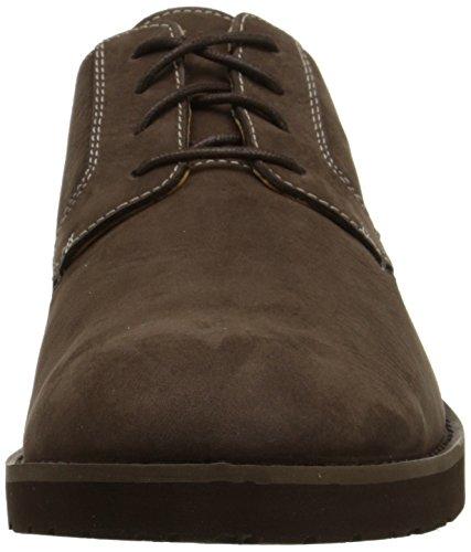 Sebago Mens Rutland Lace Up Boot, Dark Brown, 7 M US