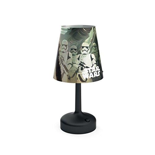 Philips Star Wars 7179630P0 Nachtlampje voor baby's, zwart, meerkleurig, kunststof, tafel, expressie