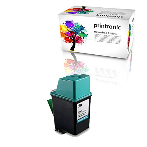 (Printronic Remanufactured Ink Cartridge Replacement for HP 20 C6614D (1 Black))