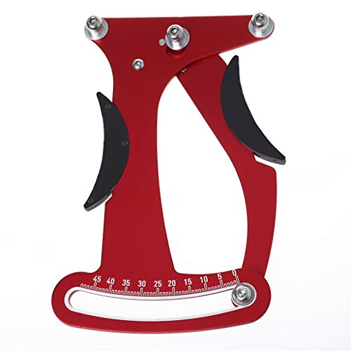 GMSP Bicycle Spoke Tension Meter Adjustment,Bike Tensiometer Wheel Stress Aluminum Alloy Builders Tools Repair