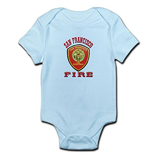 CafePress San Francisco Fire Department Infant Bodysuit - Cute Infant Bodysuit Baby Romper