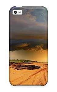 XiFu*MeiPremium Storm Back Cover Snap On Case For Iphone 5cXiFu*Mei