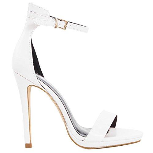 Femme Femme Bianco Toocool Toocool Mules Bianco Mules UnRgF7g