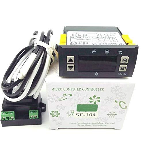 - 110V Thermostat SF-104 Temperature controller Digital Display Temperature Regulator an evaporator fan controller Defrost heating wire controller