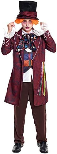 Disfraz Sombrerero Hatter Hombre (Talla M) Halloween: Amazon.es ...