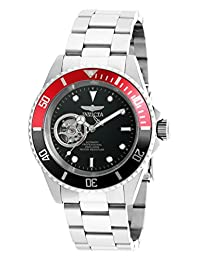 Invicta Men's 'Pro Diver' Stainless Steel Automatic Watch, Silver-Toned (Model: 20435)