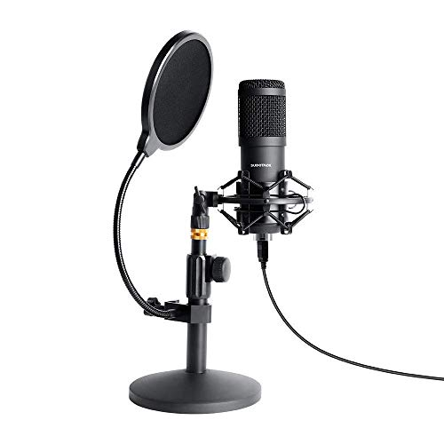 Take 17% off a USB streaming podcast microphone