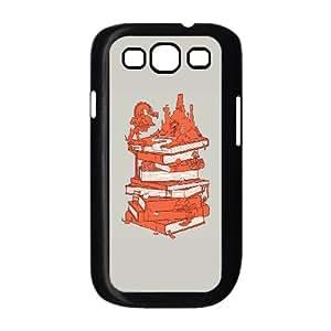 Samsung Galaxy S3 9300 Cell Phone Case Black The magic of books Rxihr