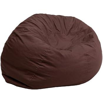 Amazon Com Big Bean Beanbag Chair Hemp Natural Kitchen