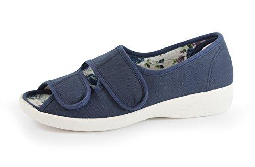 Living Bleu Comfort Pour Marine Sandales Femme dw4UHq