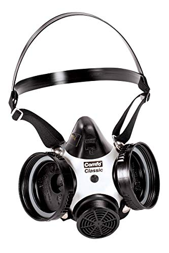 MSA Medium Comfo Classic Series Full Mask Air Purifying Respirator - 12 Each/Case -  MSA Mine Safety Appliances Co