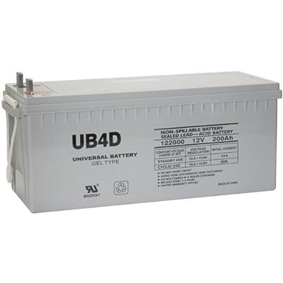 UPG 40701 Ub-4d Sealed Lead Acid Battery
