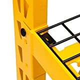 DEWALT 4-Foot Tall, 3 Shelf Steel Wire Deck
