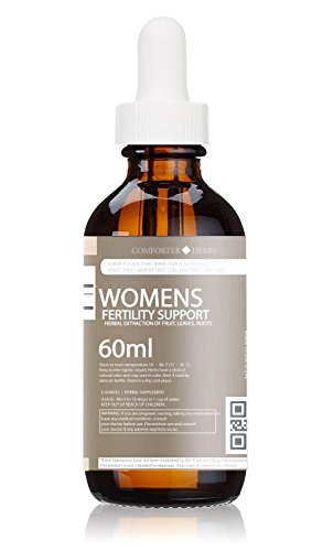Damiana Leaf Extract (Women's Fertility Support Herbal Extract (Organic Raspberry, Garlic, Super-Damiana, Purple Yam, African Yam, Turmeric+) Natural Blend, Alcoholic-Free)