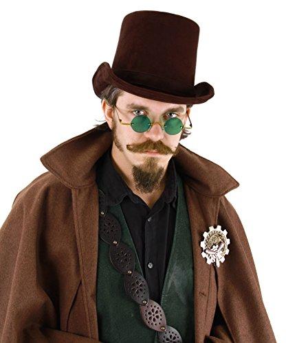 elope Dark Brown Coachman Hat